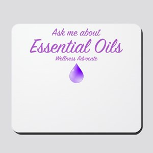 Ask Me About Essential Oils Mousepad
